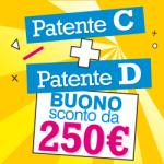 Patenti C+D...250€ di buono!