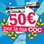 50 euro per la tua CQC!